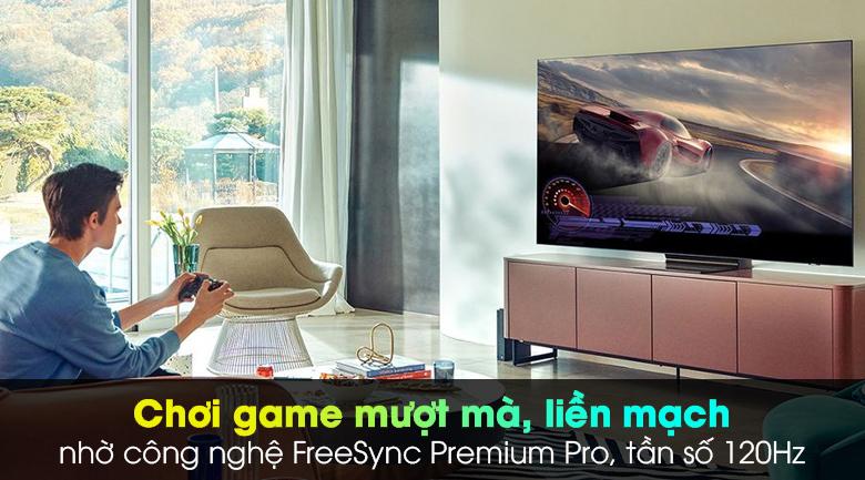 Chơi game mượt mà với FreeSync Premium Pro