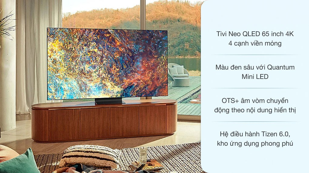 Smart Tivi Neo QLED 4K 65 inch Samsung QA65QN90A