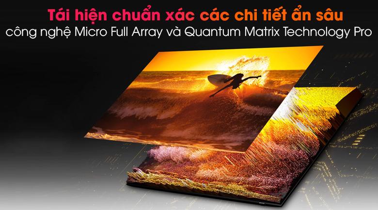 Smart Tivi Neo QLED 4K 65 inch Samsung QA65QN90A - Micro Full Array và Quantum Matrix