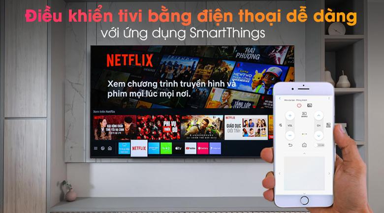 Smart Tivi Neo QLED 4K 65 inch Samsung QA65QN90A - SmartThings