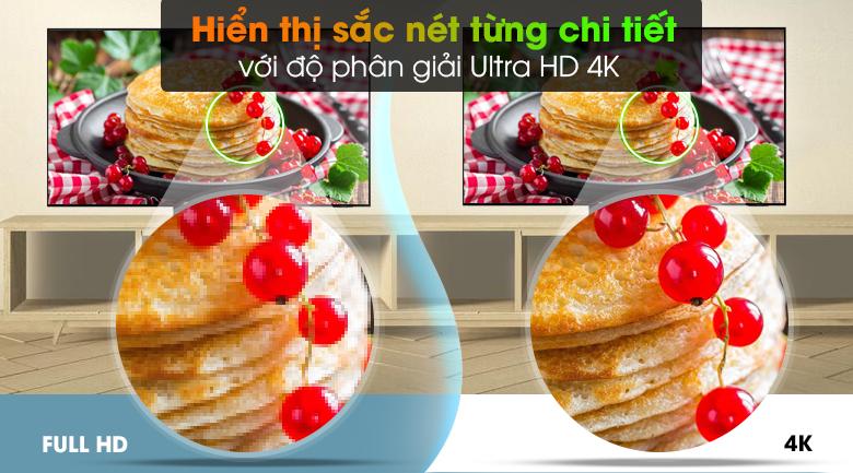 Smart Tivi Neo QLED 4K 55 inch Samsung QA55QN90A - Độ phân giải Ultra HD 4K