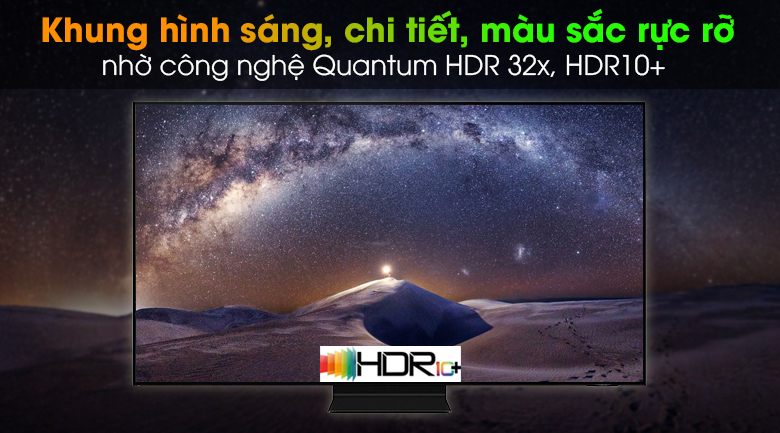 Smart Tivi Neo QLED 4K 55 inch Samsung QA55QN90A - Quantum HDR 32x, HDR10+