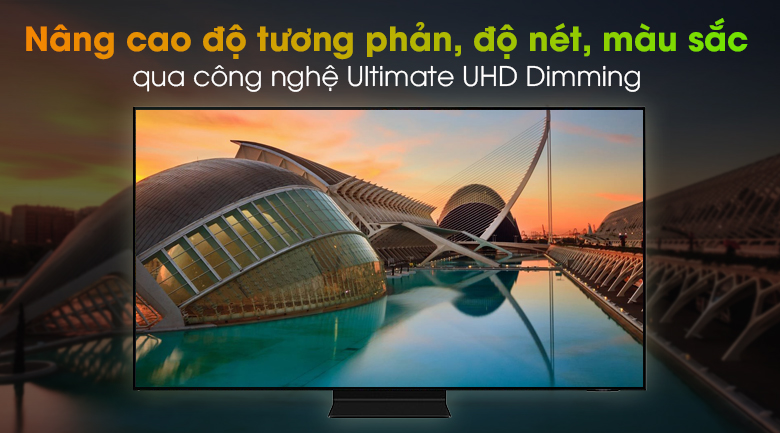 Smart Tivi Neo QLED 4K 55 inch Samsung QA55QN90A - Ultimate UHD Dimming