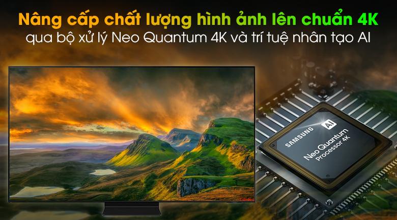 Smart Tivi Neo QLED 4K 55 inch Samsung QA55QN90A - Neo Quantum 4k và trí tuệ nhân tạo AI