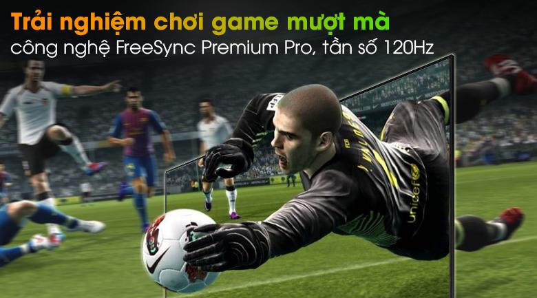 Smart Tivi Neo QLED 4K 55 inch Samsung QA55QN90A - FreeSync Premium Pro, tần số 120Hz