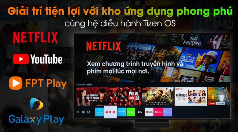 Smart Tivi Neo QLED 4K 55 inch Samsung QA55QN90A - Hệ điều hành Tizen OS