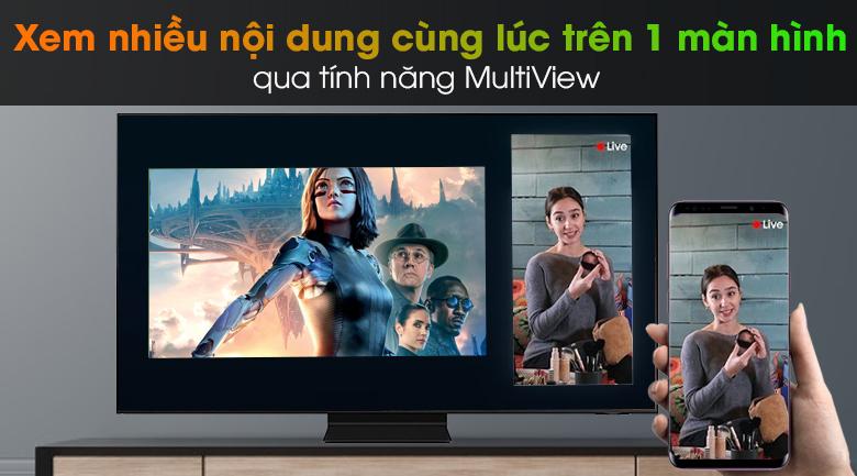 Smart Tivi Neo QLED 4K 55 inch Samsung QA55QN90A - Multi View