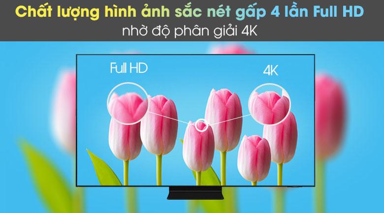 DĐộ phân giải 4K - Smart Tivi Neo QLED 4K 50 inch Samsung QA50QN90A