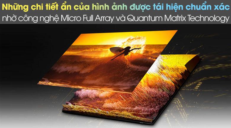 Micro Full Array với Quantum Matrix Technology - Smart Tivi Neo QLED 4K 50 inch Samsung QA50QN90A