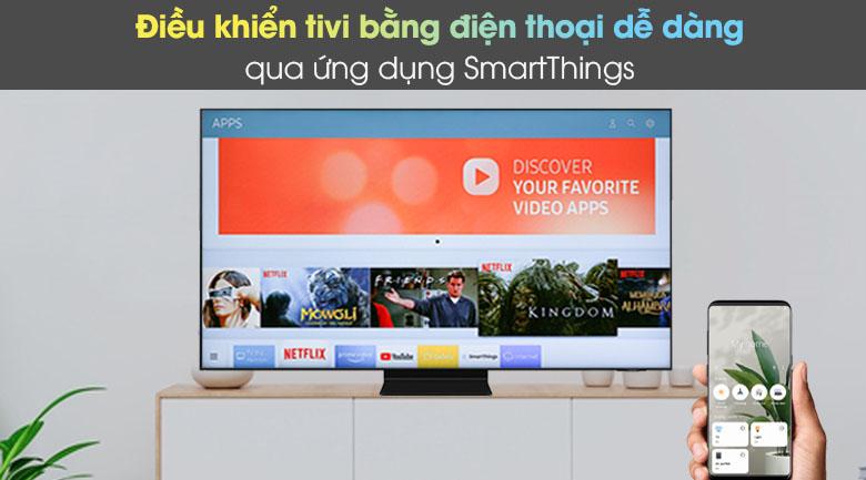 SmartThings - Smart Tivi Neo QLED 4K 50 inch Samsung QA50QN90A