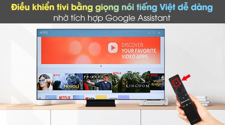 One Remote và Google Assistant - Smart Tivi Neo QLED 4K 50 inch Samsung QA50QN90A
