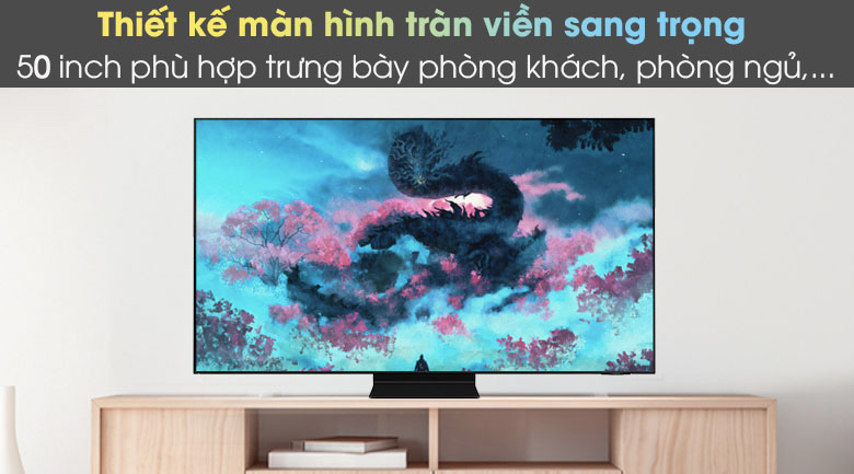 Thiết kế sang trọng - Smart Tivi Neo QLED 4K 50 inch Samsung QA50QN90A