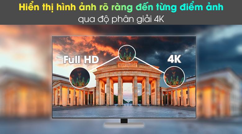 Smart Tivi Neo QLED 4K 55 inch Samsung QA55QN85A - Hiển thị hình ảnh rõ ràng đến từng chi tiết qua độ phân giải 4K