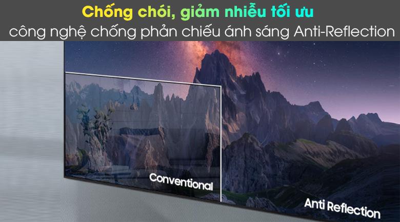 Smart Tivi Neo QLED 4K 55 inch Samsung QA55QN85A - Loại bỏ ánh sáng ngoài gây xao nhãng qua công nghệ Anti-Reflection