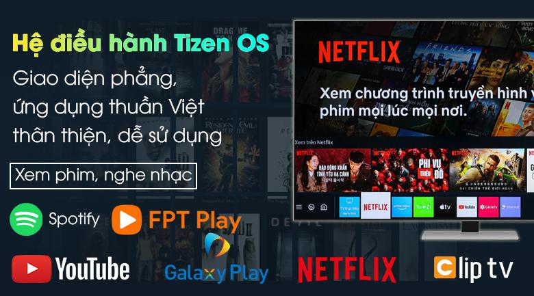 Smart Tivi Neo QLED 4K 55 inch Samsung QA55QN85A - Hệ điều hành Tizen OS hiện đại, dễ sử dụng