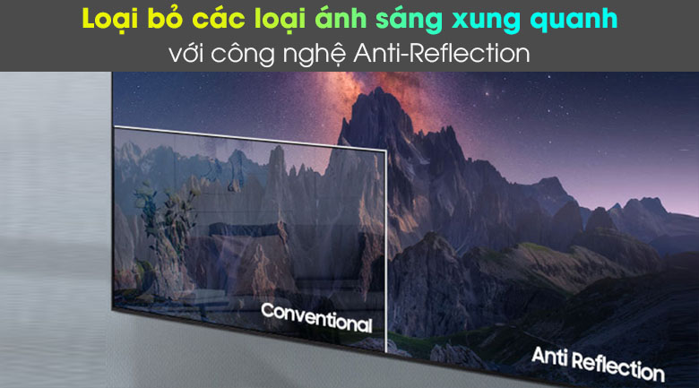 Anti-Reflection - Smart Tivi Neo QLED 4K 65 inch Samsung QA65QN85A