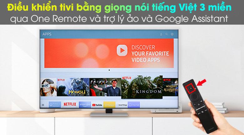 One Remote và Google Assistant - Smart Tivi Neo QLED 4K 65 inch Samsung QA65QN85A
