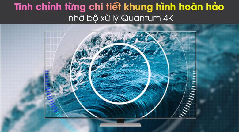 Bộ xử lý Quantum 4K - Smart Tivi Neo QLED 4K 75 inch Samsung QA75QN85A