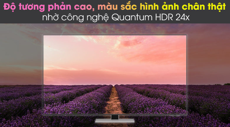 Quantum HDR 24x - Smart Tivi Neo QLED 4K 75 inch Samsung QA75QN85A