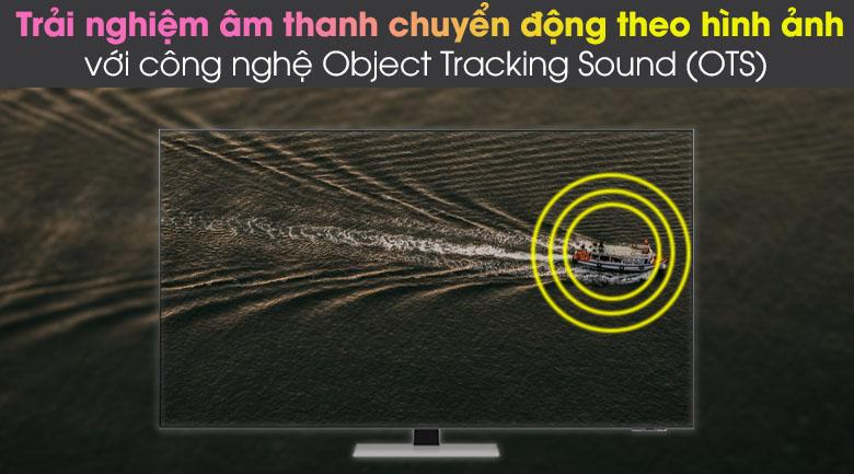 Object Tracking Sound (OTS) - Smart Tivi Neo QLED 4K 75 inch Samsung QA75QN85A