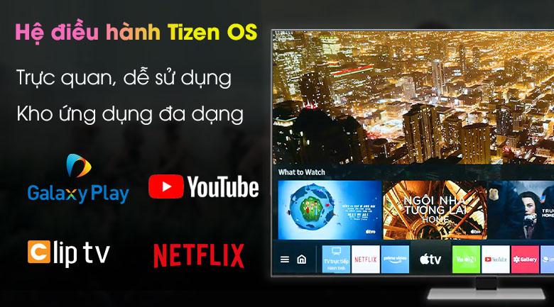 Hệ điều hành Tizen OS - Smart Tivi Neo QLED 4K 75 inch Samsung QA75QN85A