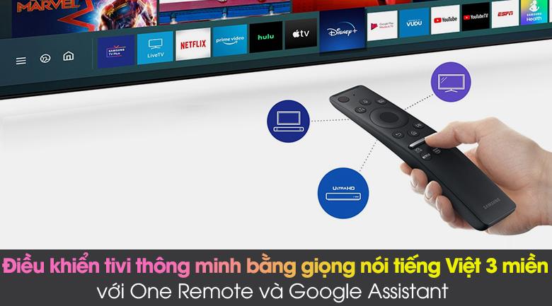 One Remote và Google Assistant - Smart Tivi Neo QLED 4K 75 inch Samsung QA75QN85A