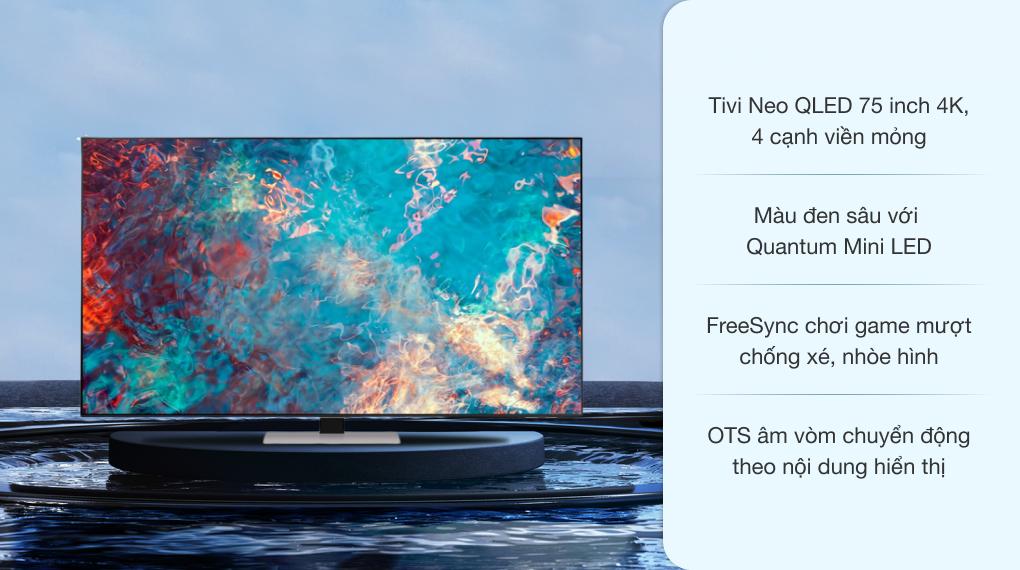 Smart Tivi Neo QLED 4K 75 inch Samsung QA75QN85A