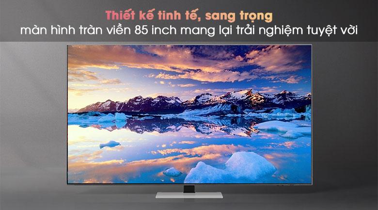 Smart Tivi Neo QLED 4K 85 inch Samsung QA85QN85A - Thiết kế