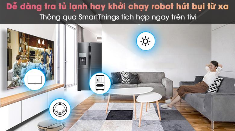Smart Tivi Neo QLED 4K 85 inch Samsung QA85QN85A - SmartThings