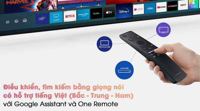 Smart Tivi Neo QLED 4K 85 inch Samsung QA85QN85A - Remote