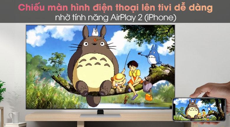 Smart Tivi Neo QLED 4K 85 inch Samsung QA85QN85A - AirPlay 2