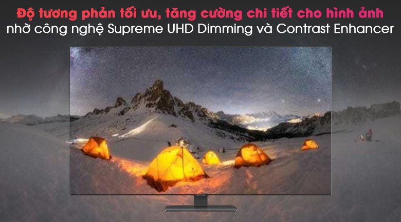 Smart Tivi QLED 4K 50 inch Samsung QA50Q80A -  Supreme UHD Dimming