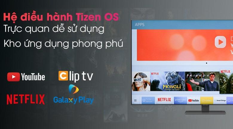 Smart Tivi QLED 4K 50 inch Samsung QA50Q80A - Tizen OS