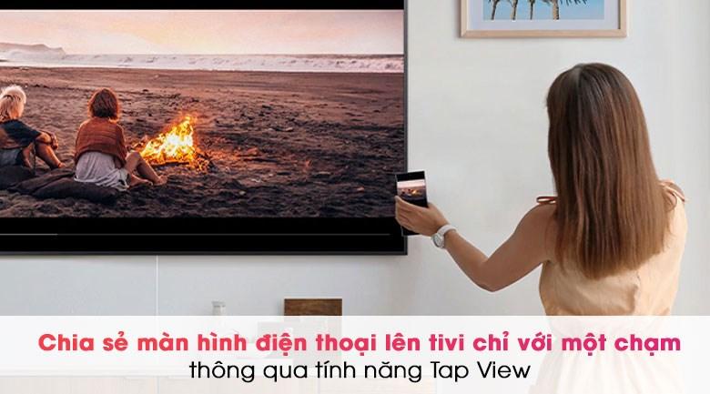Smart Tivi QLED 4K 50 inch Samsung QA50Q80A - Tap View