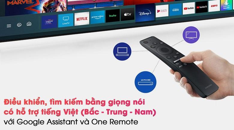 Smart Tivi QLED 4K 50 inch Samsung QA50Q80A - Remote