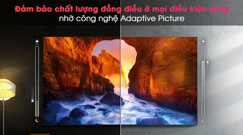 Smart Tivi QLED 4K 50 inch Samsung QA50Q80A - Adaptive Picture