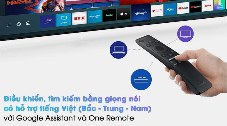 Smart Tivi QLED 4K 55 inch Samsung QA55Q80A - Remote