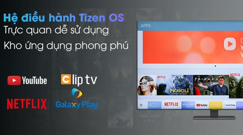 Smart Tivi QLED 4K 55 inch Samsung QA55Q80A - Hệ điều hành