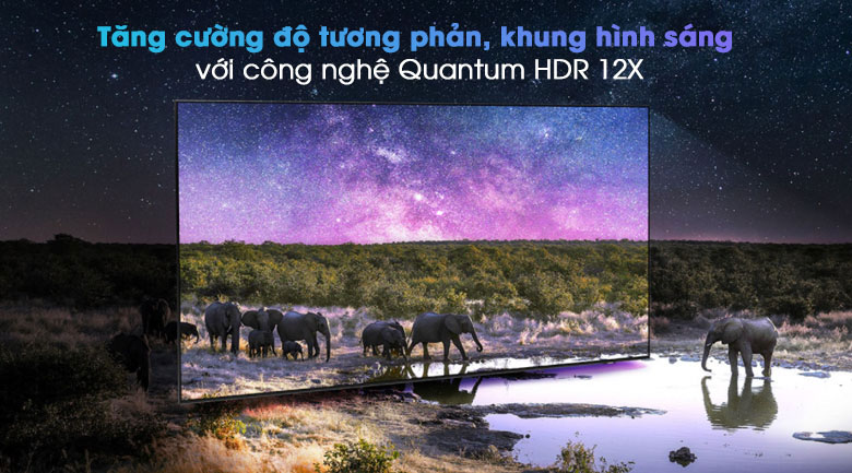 Smart Tivi QLED 4K 55 inch Samsung QA55Q80A - HDR
