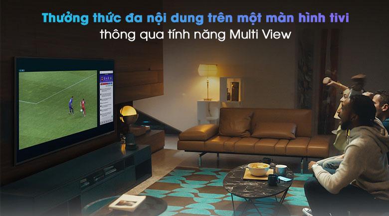 Smart Tivi QLED 4K 55 inch Samsung QA55Q80A - Multi View