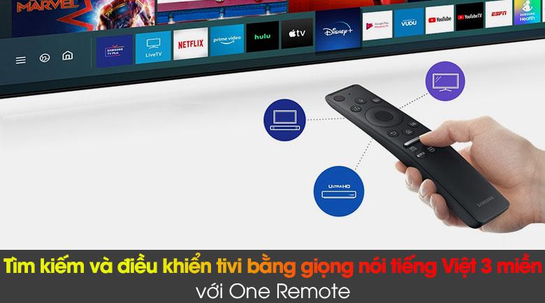 Smart Tivi QLED 4K 65 inch Samsung QA65Q80A - Remote