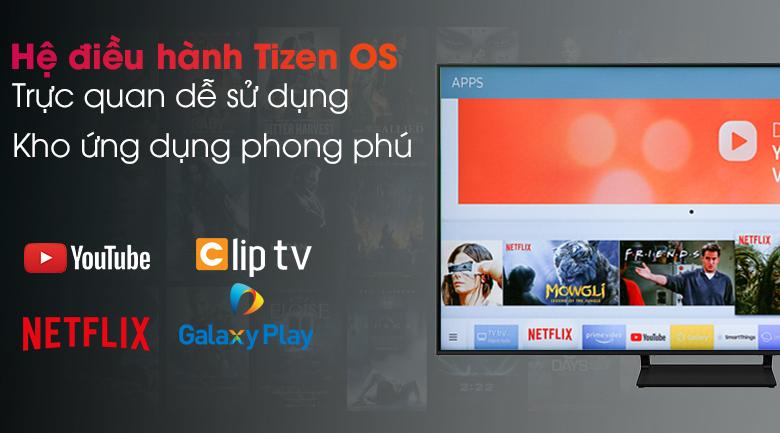 Smart Tivi QLED 4K 55 inch Samsung QA55Q70A  - Hệ điều hành