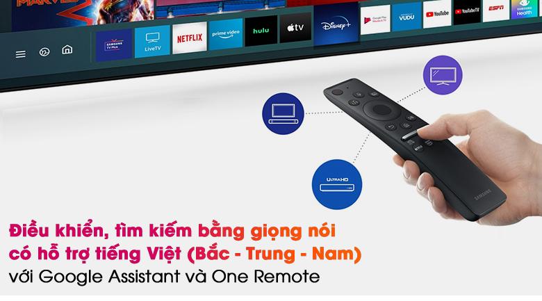 Smart Tivi QLED 4K 55 inch Samsung QA55Q70A  - Remote