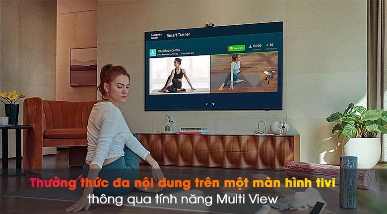 Smart Tivi QLED 4K 55 inch Samsung QA55Q70A  - Multi View