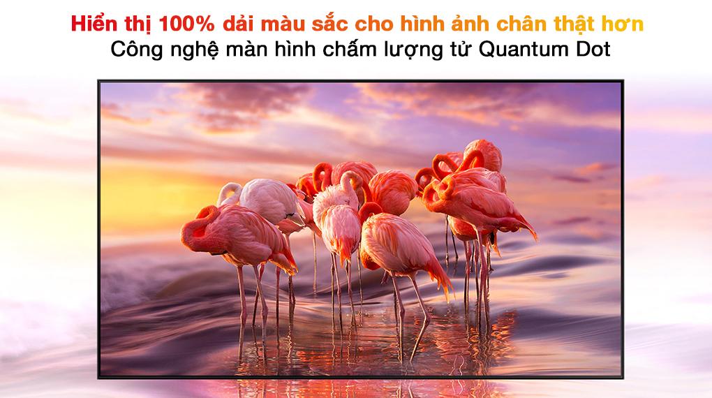Smart Tivi QLED 4K 55 inch Samsung QA55Q70A chấm lượng tử Quantum Dot
