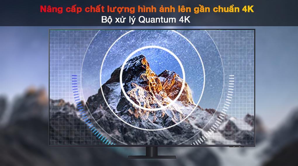 Smart Tivi QLED 4K 55 inch Samsung QA55Q70A Bộ xử lý Quantum 4K