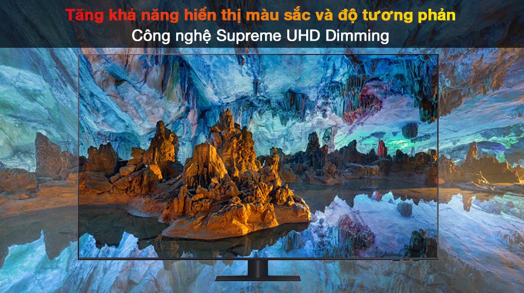 Smart Tivi QLED 4K 55 inch Samsung QA55Q70A Supreme UHD Dimming