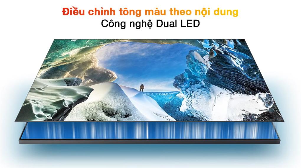 Smart Tivi QLED 4K 55 inch Samsung QA55Q70A Dual LED