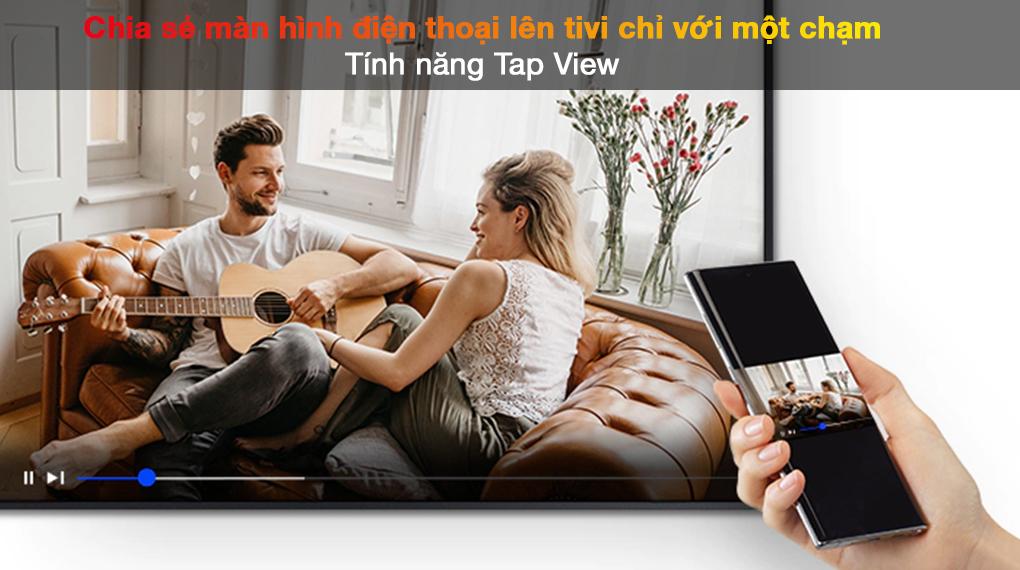 Smart Tivi QLED 4K 55 inch Samsung QA55Q70A Tap View