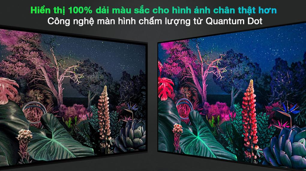 Smart Tivi QLED 4K 65 inch Samsung QA65Q70A chấm lượng tử Quantum Dot